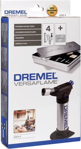 Gasbrenner Dremel VersaFlame 2200-4 1200 °C 75 min inkl. Piezozünder