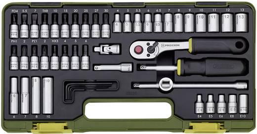 """Steckschlüsselsatz metrisch 1/4"""" (6.3 mm) 50teilig Proxxon Industrial 23280"""