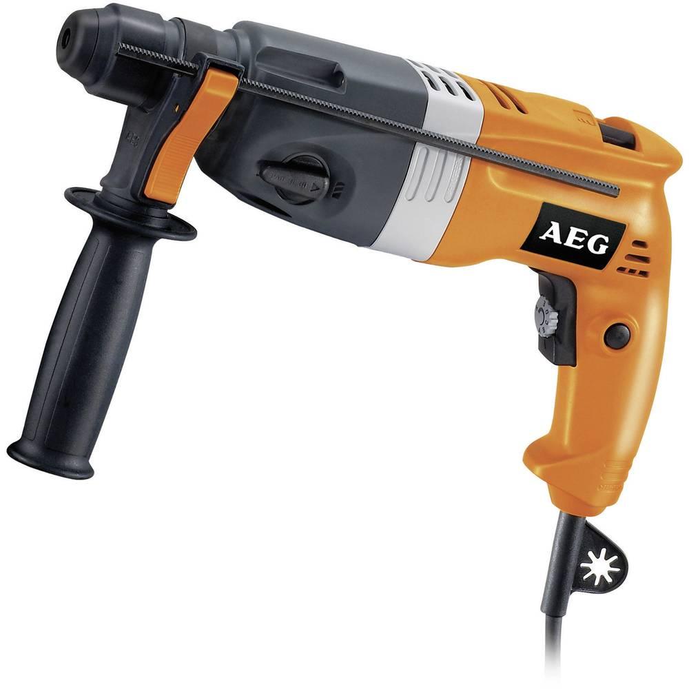 aeg powertools bh 22 e sds-plus-bohrhammer 650 w inkl. koffer im