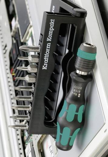 Bit-Set 10teilig Wera Kraftform Kompakt 11 Plus 05 135942 001 Kreuzschlitz Phillips, Innen-TORX