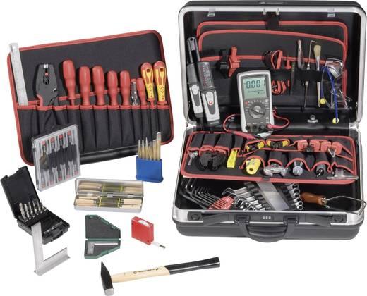 Lehrlinge Werkzeugkoffer bestückt 85teilig Mechartroniker TOOLCRAFT 824497