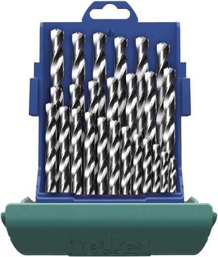 HSS Metall-Spiralbohrer-Set 25teilig Heller 21965 5 Cobalt DIN 338 Zylinderschaft 1 Set