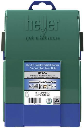 HSS Metall-Spiralbohrer-Set 25teilig Heller 21965 5 Cobalt Zylinderschaft 1 Set