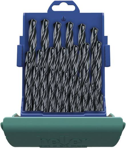 HSS Metall-Spiralbohrer-Set 25teilig Heller 18371 0 rollgewalzt DIN 338 Zylinderschaft 1 Set