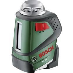Krížová vodováha laserová samonivelačná Bosch Home and Garden PLL 360, Dosah (max.): 20 m, Kalibrované podľa: bez certifikátu