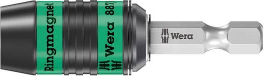"Wera 887/4 RR Ring Rapidaptor Ringmagnet Bithalter Länge 57 mm Antrieb 1/4"" (6.3 mm)"