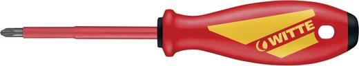 VDE Kreuzschlitz-Schraubendreher Witte Werkzeug PZ 0 Klingenlänge: 60 mm DIN EN 60900
