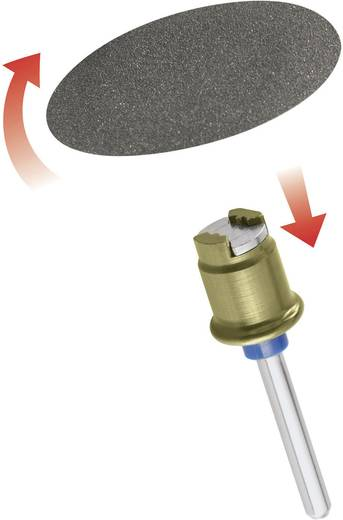 Dremel SC 411 Speedclic 6er Schleifscheiben Set 2615S411JA Durchmesser 30 mm Schaft-Ø 3,2 mm Körnung 60