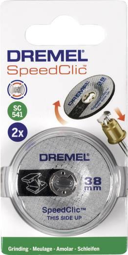 2er Dremel Speedclic - Schleifscheibe Dremel 2615S541JA Durchmesser 38 mm