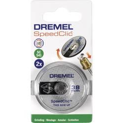 Image of 2er Dremel Speedclic - Schleifscheibe Dremel 2615S541JA Durchmesser 38 mm