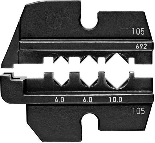 Crimpeinsatz Solar-Steckverbinder PST 40 (Wieland) 4 bis 10 mm² Knipex 97 49 69 2 Passend für Marke Knipex 97 43 E, 9