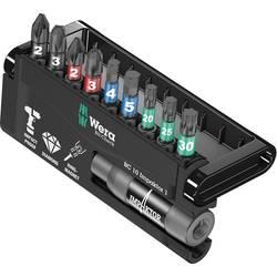 Sada bitov Wera 8740/51/55/67-9/IDC Impaktor Bit-Check 05057680001, 25 mm, nástrojová ocel, diamantová vrstva, legované, 10-dielna