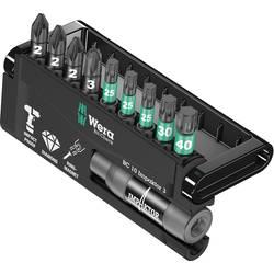 Sada bitov Wera 8755/67-9/IDC Impaktor Bit-Check 05057683001, 25 mm, nástrojová ocel, diamantová vrstva, legované, 10-dielna