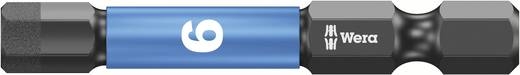 Sechskant-Bit 6 mm Wera 840/4 IMP DC / SW 6,0 X 50 Werkzeugstahl legiert, diamantbeschichtet F 6.3 1 St.