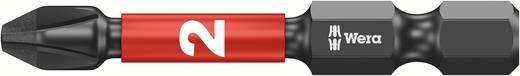 Kreuzschlitz-Bit PH 2 Wera 851/4 IMP DC / PH 2 X 50 Werkzeugstahl diamantbeschichtet, legiert F 6.3 1 St.
