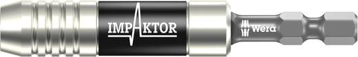 """Wera 897/4 Impaktor 05057675001 Impaktor Universalhalter mit Sprengring und Magnet Länge 75 mm Antrieb 1/4"""" (6.3 mm)"""