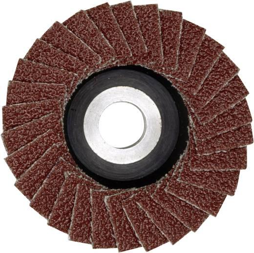 Lamellenschleifer aus Korund für LWS Proxxon Micromot 28 590 Fächerscheibe Schleifmopteller Durchmesser 50 mm Körnung 10