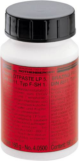 Rothenberger Industrial LP 5 Lötpaste Inhalt 160 g