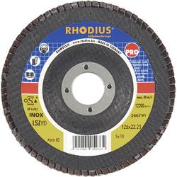 Lamelový brusný kotouč Rhodius LSZ-F1 205580, Ø 115 mm/22.2 mm, zrnitost 40