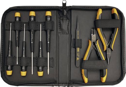 ESD Werkzeugset in Tasche 9teilig Bernstein SERVICE-SET CARAT 2250