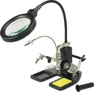 TOOLCRAFT LED Lupenleuchte Mit 3 Hand