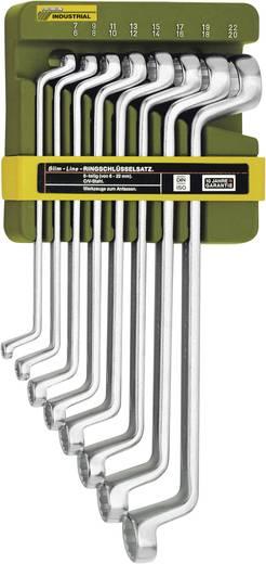Doppel-Ringschlüssel-Satz 8teilig 6 - 22 mm DIN 838, ISO 3318 Proxxon Industrial SlimLine 23 810