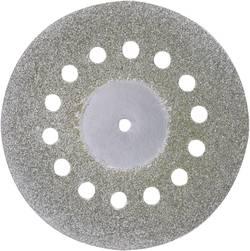 Image of Diamantierte Trennscheibe mit Kühllöchern Proxxon Micromot 28 846 Durchmesser 38 mm Innen-Ø 2.35 mm 2,35 mm 1 St.