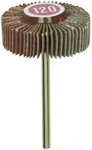 Schleiffächer aus Normalkorund Proxxon Micromot 28 985 Schaft-Ø 3 mm Körnung K120