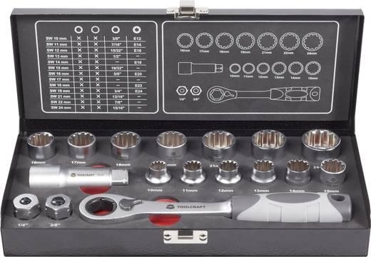 Multi-Steckschlüsselsatz 17tlg.