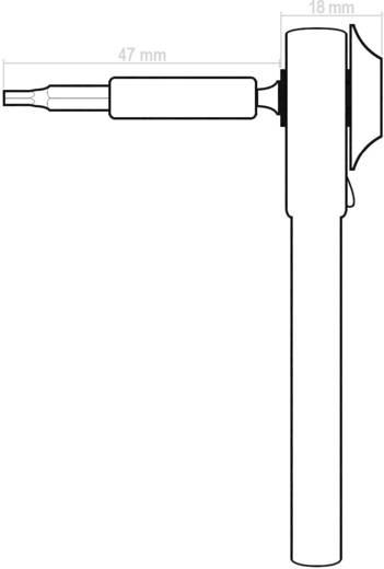 """Steckschlüsselsatz metrisch 1/4"""" (6.3 mm) 37teilig Dacal MBS40"""