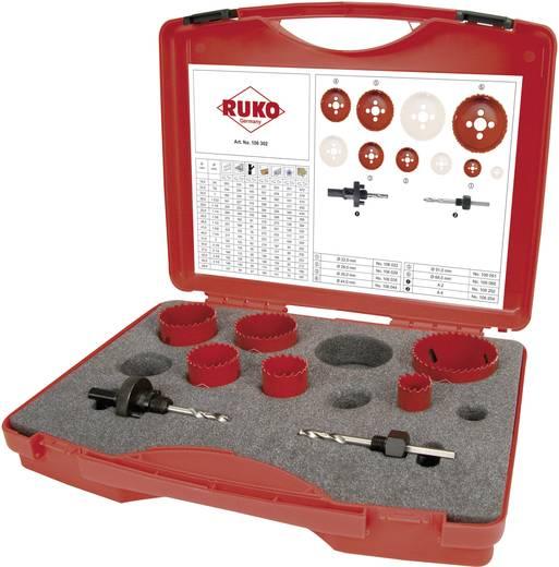RUKO 106302 106302 Lochsägen-Set 8teilig 1 Set