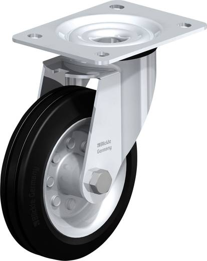 Blickle 532101 Stahlblech-Lenkrolle, Ø 150 mm Ausführung (allgemein) Lenkrolle