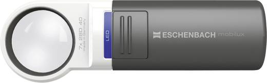 Handlupe mit LED-Beleuchtung Vergrößerungsfaktor: 4 x Linsengröße: (Ø) 60 mm Eschenbach 151141