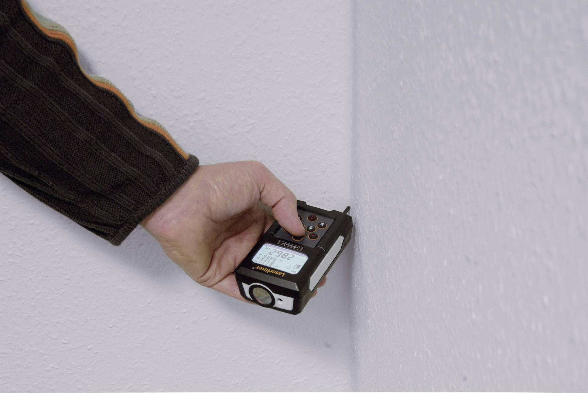 Laser Entfernungsmesser Laserliner : Laserliner pocket pro set laser entfernungsmesser messbereich max