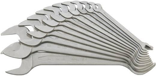 Doppel-Maulschlüssel-Satz 12teilig 6 - 34 mm DIN 3110, DIN ISO 3318, DIN ISO 10102 Walter Werkzeuge 100 12 MM PH 000370