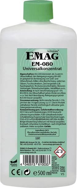 Univerzální čistič Emag, EM080, zlato/šperky/brýle/CD/DVD, 0,5 l