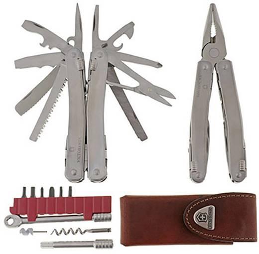Schweizer Taschenmesser Anzahl Funktionen 38 Victorinox SWISS TOOL SPIRIT PLUS 3.0239.L Silber