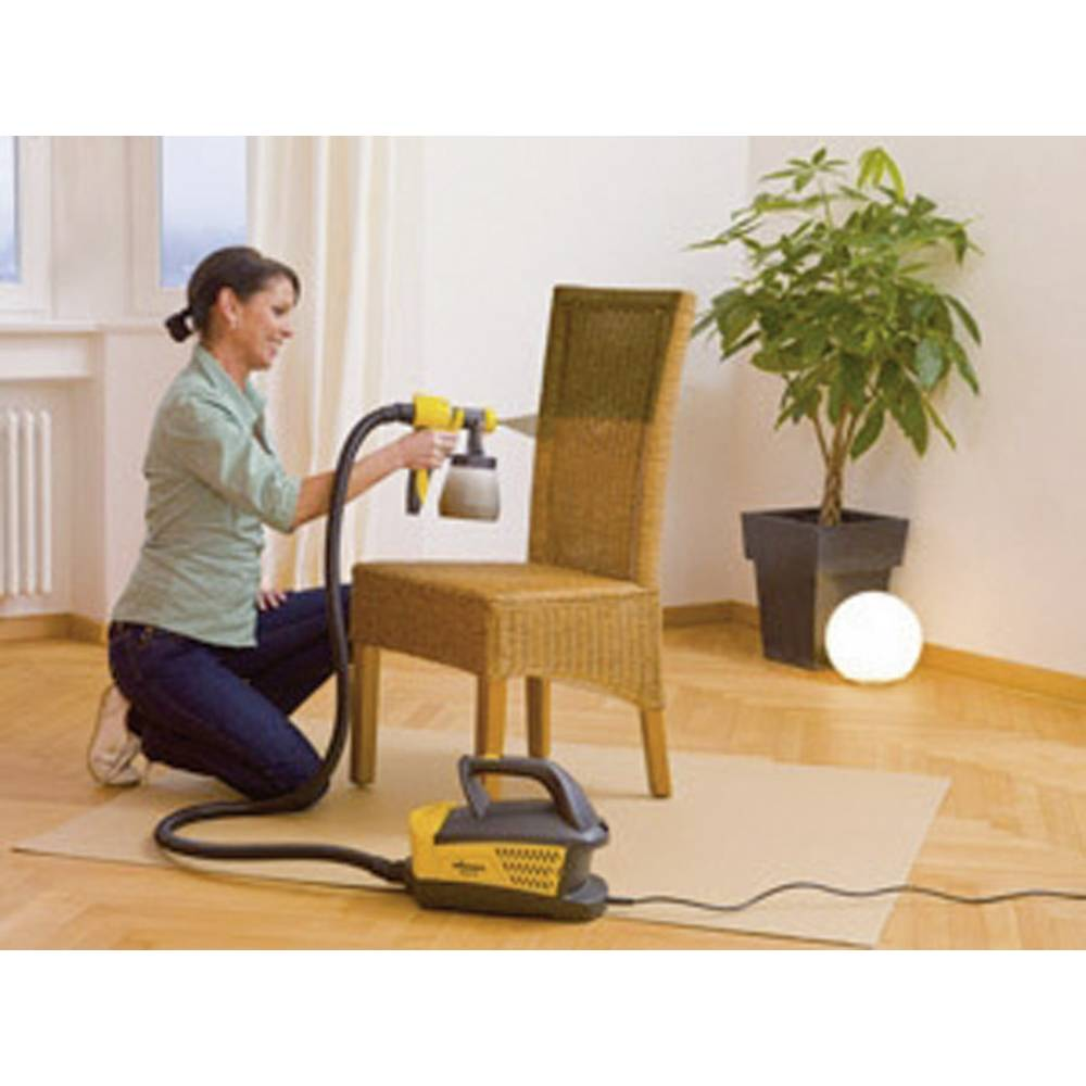 pistolet peinture basse pression 800 ml wagner w670 sur le site internet conrad 826996. Black Bedroom Furniture Sets. Home Design Ideas