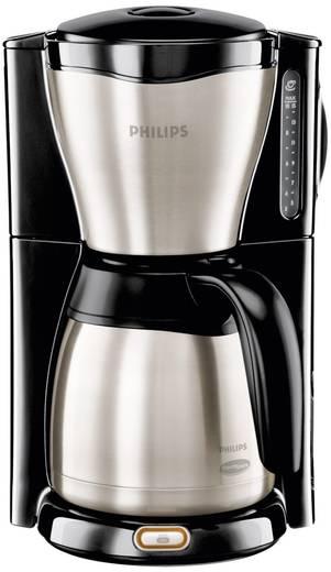 Kaffeemaschine Philips Gaia Therm HD 7546/20 Edelstahl, Schwarz Fassungsvermögen Tassen=15 Isolierkanne