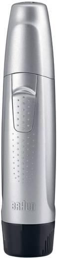 Ohr-, Nasenhaartrimmer Braun EN10 abwaschbar Silber-Schwarz