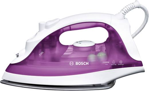 Dampfbügeleisen Bosch Haushalt TDA2329 Weiß, Violett (transparent) 2200 W