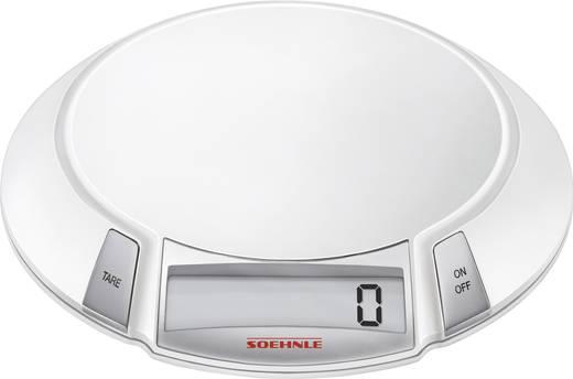 Küchenwaage digital Soehnle OLYMPIA KWD Wägebereich (max.)=5 kg Silber/Weiß
