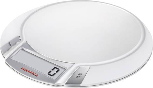 Küchenwaage digital Soehnle KWD OLYMPIA Wägebereich (max.)=5 kg Silber/Weiß