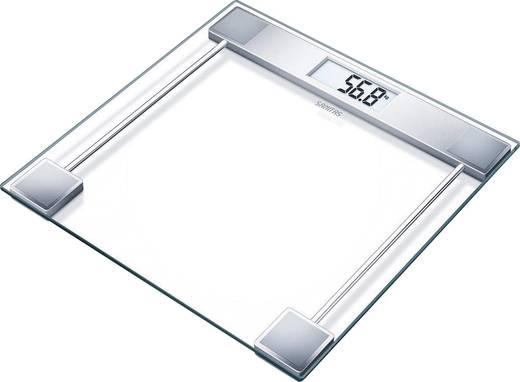 Digitale Personenwaage Sanitas Pèse-personne en verre Wägebereich (max.)=150 kg Glas, Ebony Black