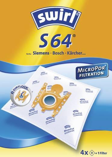 Staubsaugerbeutel Swirl S64 S66 Micro 4 St.