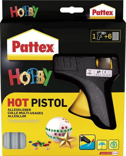 Pattex HOT Pistol Starter-Set Heißklebepistole 11 mm 70 W