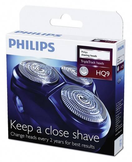 Scherkopf Philips HQ 9/50 Schwarz 1 Set