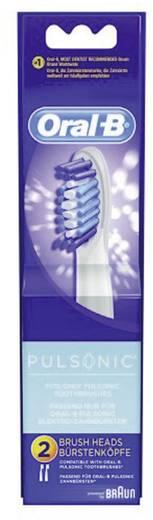 Aufsteckbürsten für elektrische Zahnbürste Oral-B Pulsonic 2 St. Weiß