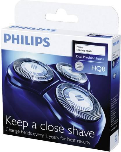 Scherkopf Philips HQ 8/50 Schwarz 1 Set