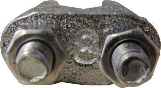 Drahtseilklemme 3 mm M4 Stahl verzinkt TOOLCRAFT 827907 10 St.
